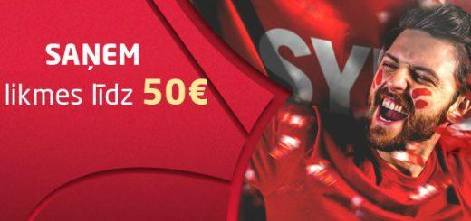 Synottip.lv Reģistrācijas Bonuss