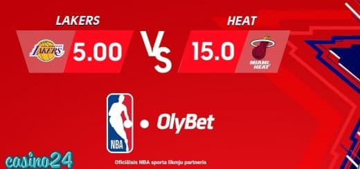 Olybet koeficienti NBA