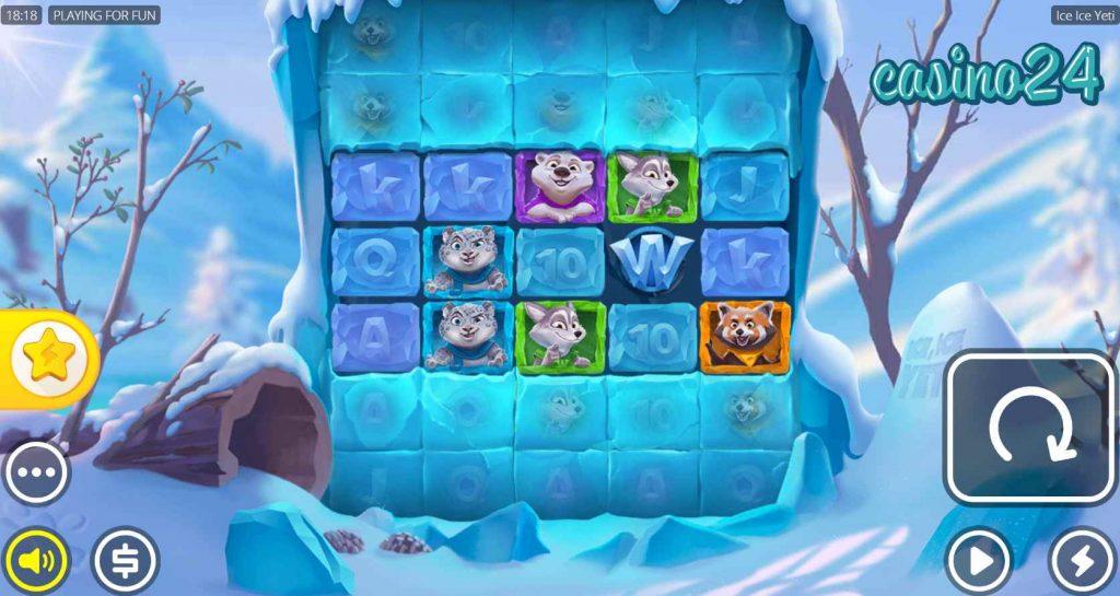 Ice Ice Yeti spēļu automāts online 11.lv kazino