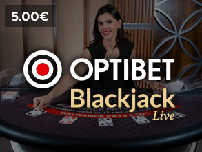 Optibet live kazino bonuss Optibet Blackjack Live