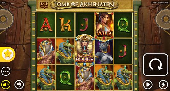 Bezmaksas griezieni Tomb of Akhenaten spēļu automāts