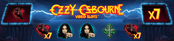 Bonusa likme Ozzy Osbourne spēle