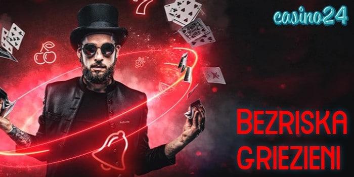 Betsafe kazino bezriska griezieni