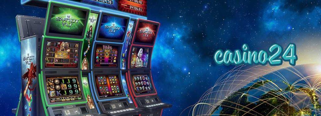 casino24 Synot spēļu automāti